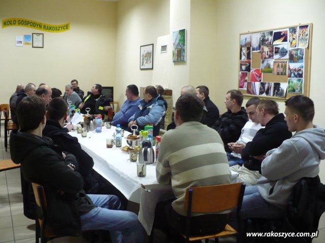 Zebranie OSP w Rakoszycach